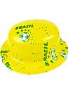 Εθνική καπέλο σημαία της Βραζιλίας