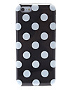 Simple Design Round Dots Pattern Silicone Case for iPhone 5C (Assorted Colors)