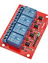 Arduino를위한 5V 4 채널 하이 레벨 트리거 릴레이 모듈 (공식 아두 이노 보드와 함께 작동)