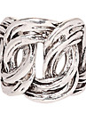 Weave Silver Infinite Band Ring(Assorted Size)