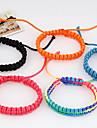Tissu multicolore bracelet d'amitié de douces 7cm femmes (multicolore, bleu et plus) (1 PC)
