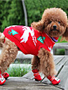 Dog Sweater Dog Clothes Keep Warm Animal Random Color Costume For Pets