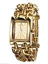 Analógico Quartz Ouro Aço Relógio Pulseira Banda Feminina (cores sortidas)