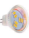 3 W 6 SMD 5630 270 LM Warm White MR11 Spot Lights DC 12 V