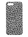 아이폰 5/5S를위한 회색 표범 본 하드 케이스