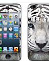 유행 특별한 패턴 색상 빛나는 보호 필름 스틱 스스로 iPhone4/4S를위한 케이스 뒤 표지