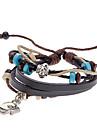 Unisex Fish Fabric Leather Bracelet