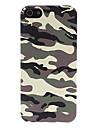 Caso Exército padrão de camuflagem verde volta com HD de tela película protetora para iPhone 5/5S