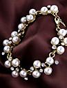 European And American Style 6.5cm Female Retro Elegant Pearl Bracelet   B346