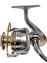 Molinetes de Pesca Molinetes Rotativos 4.7:1 12 Rolamentos Canhoto Destro Trocavel Pesca de Mar Isco de Arremesso Pesca de Agua Doce -