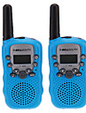 "Pair of T-388 Lovers Talking Mini 8KM Handheld  1"" LCD Screen Walkie Talkie Two Way Radio with Flashlight"