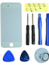 LCD Front Screen Glass Lens Part with 3M Sticker and Assembly Tools for iPhone 5