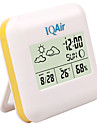 Chambre thermomètre hygromètre numérique avec Météo Indication Zone