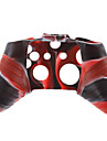 Silicone Skin Case for XBOX ONE (Red + Black)