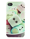 Coque pour iPhone 4/4S, Motif Marshmallows