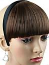 женщины синтетические шиньон с волос полоса термостойкого волокна дешевы косплей партии обруча волос