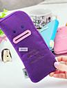 Encantador Expresión facial Sonreír Felt Pen Bag (color al azar)