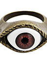 Gothic Realistic Eye Women's Resin With Bronze Alloy Statement Rings(1 Pc)