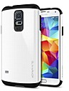 Slim Armor PC with TPU Combo Shell Back Cover  for Samsung Galaxy S5 I9600