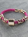 Miss ROSE®Punk Style Rose Hand-woven Bracelet
