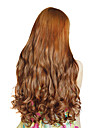 High Temperature Resistance 20 Inch Long Wavy 5 Clip Hairpiece Extension 4 Colors Available