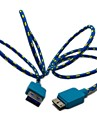 Micro USB USB Cable Adapter Cable For Samsung Plastics