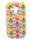 Strawberry Cakes Pattern TPU Soft Case for Samsung Galaxy Trend Duos S7562/S7560