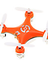 Cheerson CX-10 Mini Drone 2.4G 4CH 6 Axis LED RC Quadcopter with Gyro Hover/ Vision Positioning/360°Rolling RTF