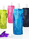 Sports Water Bottle Waterproof, Heat Preservation Cycling / Bike / Mountain Bike / MTB / Road Bike Plastic / Aluminium Alloy Green / Blue / Pink