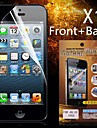 защитная HD передняя панель + крышка протектор экрана для iPhone 4/4S