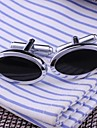 Stylish Oval Cufflinks For Men (1pair) Christmas Gifts