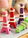 Eiffel Tower Shaped Removable Eraser