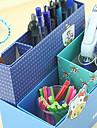 Креативный дизайн бумаги Многофункциональный ящик для хранения (случайный цвет)