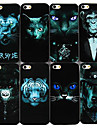 Non-mainstream Animals Series Back Case for iPhone4/4S(Assorted color)