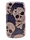 Cool Skull Pattern Hard Back Cover Case for Samsung Galaxy S3 Mini I8190