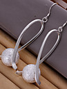 Lucky Doll Copper / Silver Plated Earring Drop Earrings Daily / Casual 1 pair