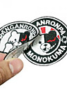 Dangan Ronpa Monokuma No.AB2 Cosplay Clothing Patch/Patch