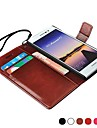 Luxury Wallet Style PU Leather Case for Huawei Ascend P7 Phone Covers with Stand & Card Holders