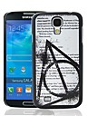 Magic School Quote Pattern Plastic Hard Protective Case for Samsung Galaxy S4 i9500