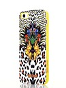 Pour Coque iPhone 5 Antichoc / Motif Coque Coque Arriere Coque Motif Leopard Flexible TPU iPhone SE/5s/5