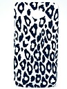 Leopard Pattern Hard Back Cover Case for HTC Desire 601