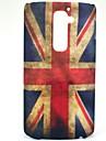 Ретро-модель Флаг Великобритании жесткий защитный футляр для LG G2/D802