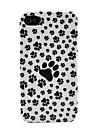 O pés do cão da caixa da pele para iPhone 4/4S