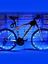 Велосипедные фары колесные огни Светодиодная лампа Велоспорт Водонепроницаемый AA Люмен Батарея Велосипедный спорт-FJQXZ