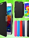 Flip Case Cover Magnetic Leather Slim for Samsung Galaxy S5 I9600 (Assorted Colors)