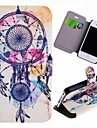 Special Grains Dream Catcher  Pattern PU Full Body Case with Card Slot for iPhone 4/4S