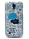 Para Samsung Galaxy Capinhas Case Tampa Estampada Capa Traseira Capinha PC para Samsung Galaxy S4 Mini