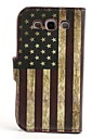 USA Flag Pattern PU Leather with Stand Cover Full Body Stand Case Cover for Samsung Galaxy S3 I9300