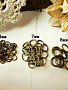 Vintage Bronze 4mm/7mm/8mm Circle DIY Material