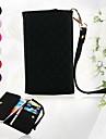 삼성 갤럭시 S3 i9300를 (분류 된 색깔)를위한 다이아몬드 곡물 지퍼 지갑 디자인 가득 차있는 몸 케이스 커버